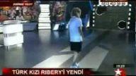türk kızı riberiyeyi böyle yendi