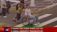 kamera şakası tekerlekli sandalye