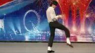 süper michael jackson dansı