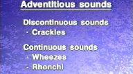 patolojik solunum sesleri
