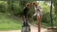 Ormanda Çıplak Kız Şakası:D