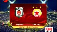 Beşiktaş- 1 - CSKA Sofya- 0 Maç Özeti