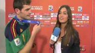 Iker Casillas canlı yayın filan dinlemedi sevgilis