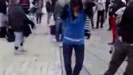 tecktonik kızdan süper dans
