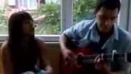 Mertcan ve Özge - Hani Bekleyecektin Gitar