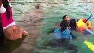 Zekasıyla ailesini boğulmaktan kurtaran kız