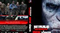 Maymunlar Cehennemi - Şafak Vakti 2014 Tasarım DVD Cover