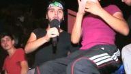 Haplanıp İsrail Protestosuna Gelen Genç