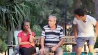 Yaşlı amcalara uyuma Şakası (Komedi)