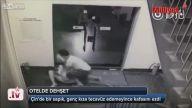 Otel koridorunda Tecavüz girişimi