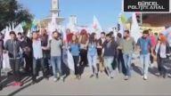 Ankara'da Canlı Bomba Patlama Anı   Barış Mitingini Kana Buladılar  