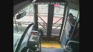 Kahraman Otobüs Şoförü Kızın Hayatını Kurtardı