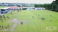 Futbol Topuyla Drone'u Gafil Avlayan Çocuk