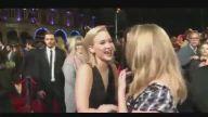 Jennifer Lawrance'dan Natalie Dormer'ın Dudaklarına Öpücük