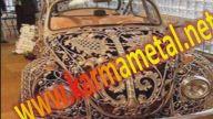 sıcak daldırma galvanizli ferforje araba süsü