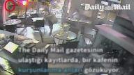 Paris'te Kafe Saldırısı Güvenlik Kamerasında