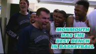 Üniversite Basketbol Takımı Oyuncularının Sevinç Hareketleri