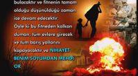 Peygamberimiz (sav) 1400 yıl önce Hz. Mehdi (as)'ın zuhuru öncesinde yaşanacak mülteci sorununu...