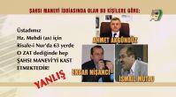 """Mehmet Ali Kaya hocamız, Bediüzzaman Hazretleri """"o zat"""" dediğinde """"şahsı maneviden"""" bahsetmiştir diy..."""