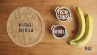 Anlık Tatlı Krizinde Evde Kalanları Değerlendirip Muzlu Tortilla Lokmaları Yapalım mı?