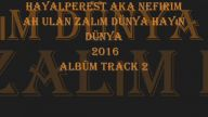 HayaLPeresT aKa Nefirim - ah ulan zalım dünya hayın dünya 2016 Albüm Track 2