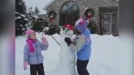 Dünyanın En Eğlenceli Görüntülerini Ortaya Çıkaran İkili: Çocuklar ve Kar
