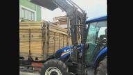 Traktör ön yükleyici kepçe