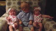 İkiz Bebeklerin Arasına Oturduğuna Pişman, Anlam Kargaşası Yaşayan Minnak