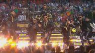 Coldplay, Bruno Mars ve Beyonce'den Muhteşem Super Bowl Devre Arası Performansı