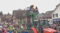 İsviçreyi Kasıp Kavuran 'Fasnacht Karnavalı'ndan Çılgın İşi Taşınabilir Roller Coaster