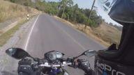 Yola Çıkmak Üzere Olan Ayı ile Karşılaşan Motorcunun O Anı