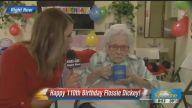 110 Yaşındaki Teyzeyle Röportaj Yapmaya Çalışan Muhabir