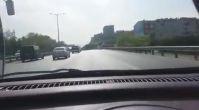 Psikopat Sürücü Ölümcül Makas Atıyor