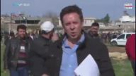 Kilis'te Roketin Düşme Anı