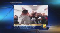 Uçakta Kadınlar Birbirine Girdi