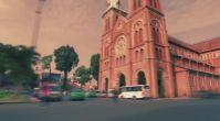Hyperlapse Görüntüleriyle Saigon Şehrinde Bir Tur