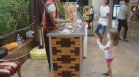 Minik Turistin Maraş Dondurmacısı ile İmtihanı