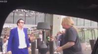 Nicolas Cage Kavga Eden Arkadaşını Böyle Sakinleştirdi