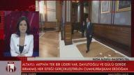 Fatih Altaylı'dan canlı yayında bomba iddia: Davutoğlu, Erdoğan'a istifasını sundu!