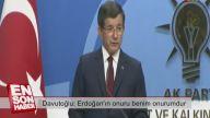 Ahmet Davutoğlu İstifa Konuşması