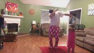 Baba ve Kızından Enfes Dans Gösterisi