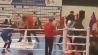 Azeri ve Ermeni Sporcuların Birbirine Girmesi
