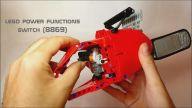 Legodan Yapılan Motorlu Testere