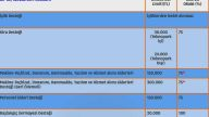 KOSGEB - AR-GE, İnovasyon ve Endüstriyel Uygulama Destek Programı Destek Limitleri ve Destek Oranları