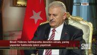 Başbakan Binali Yıldırım CNN Türk'e önemli açıklamalarda bulundu