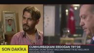 Cumhurbaşkanı Erdoğan canlı yayında gözyaşlarını tutamadı