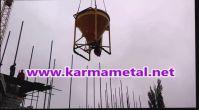 Sıfır ikinci el alternatif beton kovası kule vinç kovası fiyatları-KARMA METAL