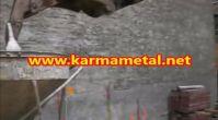 Karma metal - Profesyonel tasarimli santiye insaat kule vinc forklift beton tasima dokme kovasi kaza...