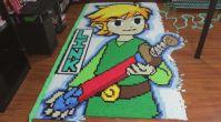 78,175 Domino Taşıyla Zelda Karakteri Yapmak