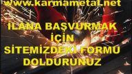 Demir doğramacı iş ilanı-KARMA METAL